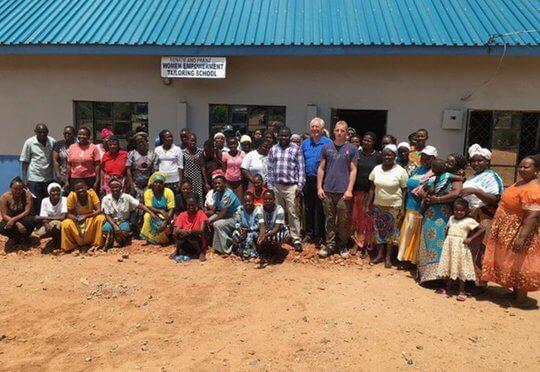 Soziales Projekt Afrika