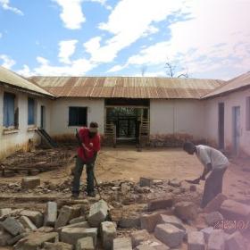 Bau der Nähschule